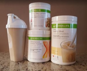 Apple Flavored Herbalife Shake